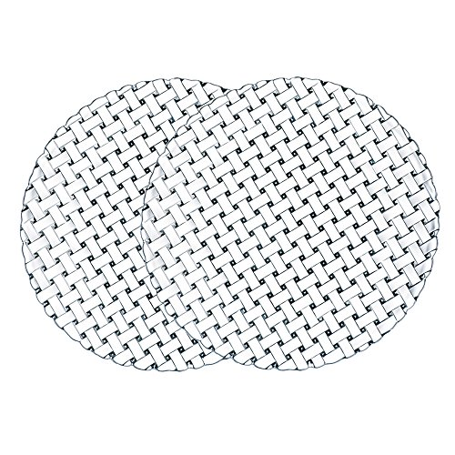 Nachtmann 89994 Bossa Nova Crystal Charger Plate, Set of 2, 12