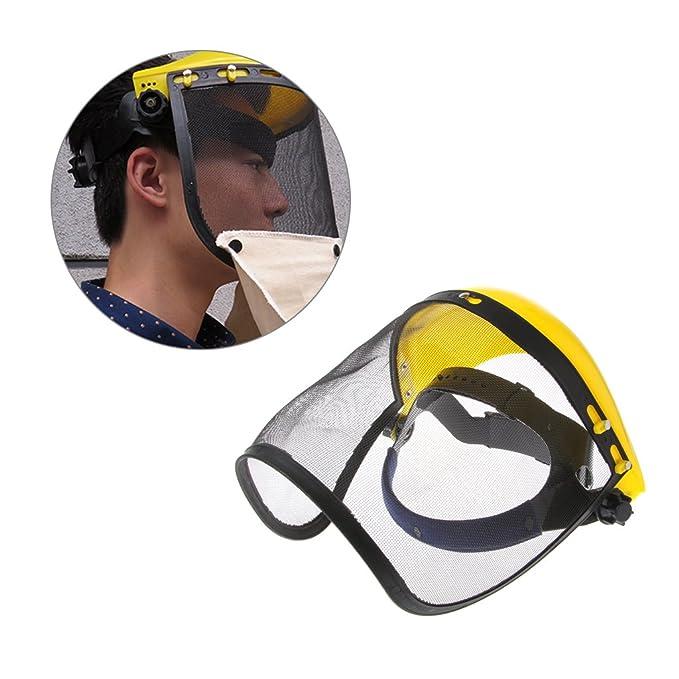 Dabixx Careta, Visor de Malla de protección Facial Browguard Ideal ...