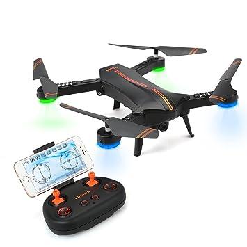 Virhuck 720P RC Quadcopter Drone Plegable (Racionalizado ...