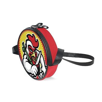 Etonnant Kids Shoulder Bag, Cock Red White Yellow Children Handbag Travel Crossbody  Purse Animal Cartoon Small