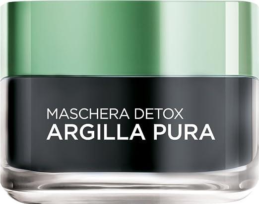 197 opinioni per L'Oréal Paris Argilla Pura Maschera Viso Detox, 50 ml