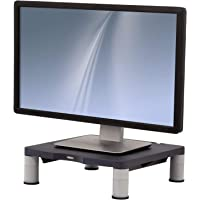 Fellowes Standard Adjustable Monitor Stand, Graphite