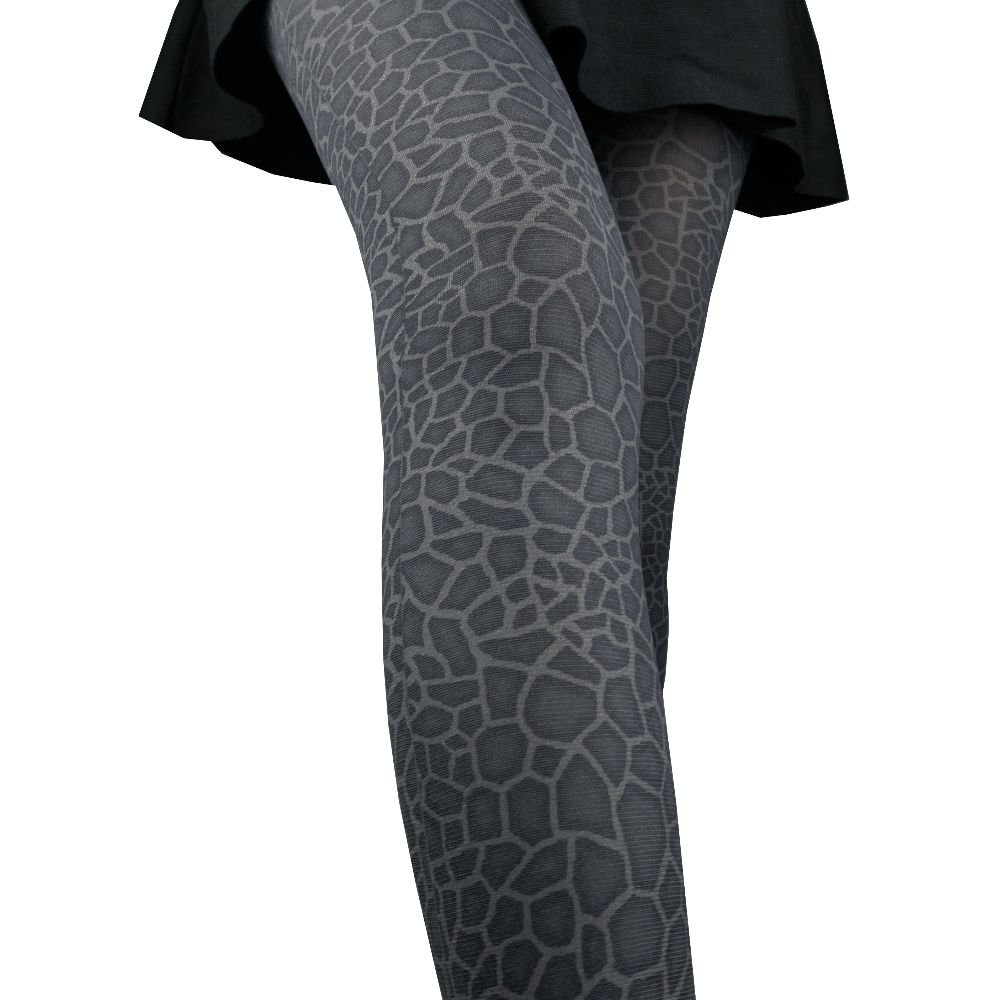 811d7998c6055 Women Lady Wild Animal Giraffe Print Tight Pantyhose Stockings, Small Size  (dark gray giraffe) at Amazon Women's Clothing store: