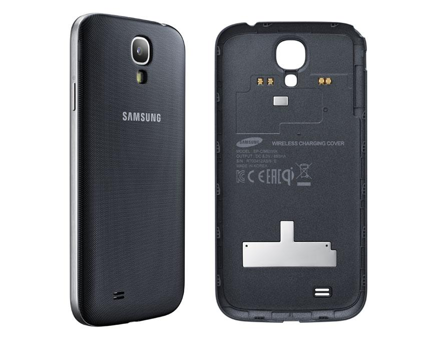 ... cover, now you can charge your Galaxy S4 without the need to plug in