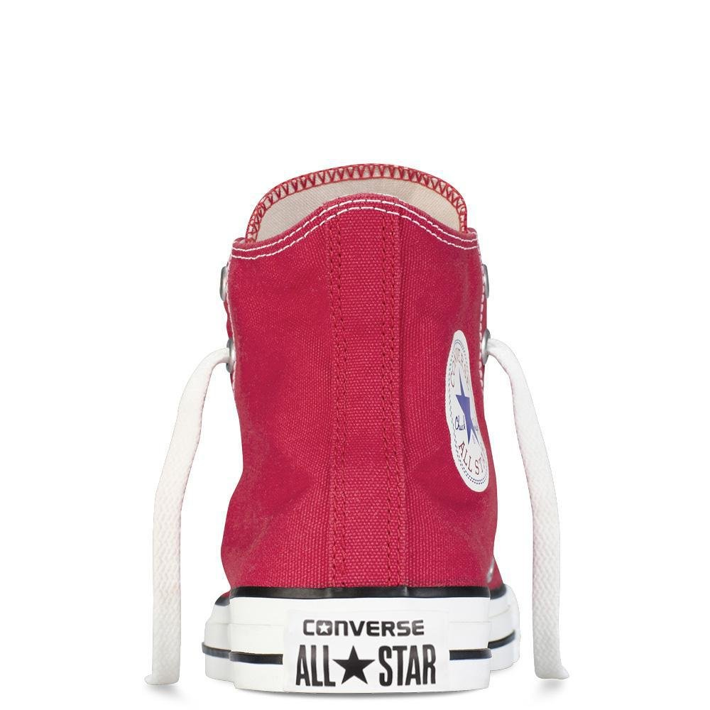 Converse Kids Chuck Taylor Classic Hi Red Sneaker - 10.5 by Converse (Image #10)