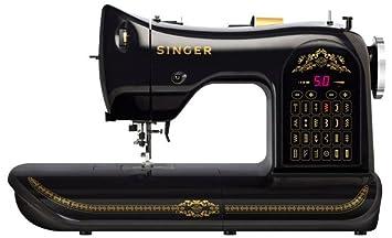 Singer Edición 160 aniversario - Máquina de coser computerizada, color negro: Amazon.es: Hogar