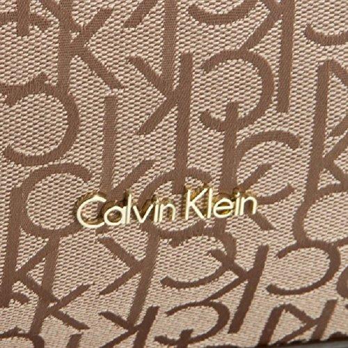 CALVIN KLEIN - Femme sac a main nina logo ew tote poudre rose