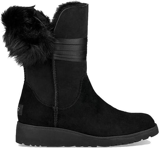 UGG Boots Suede 41 Australia EUAmazon Womens Black Brita 3qjc5LSR4A