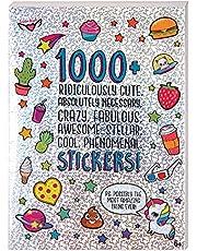 1000+ ملصق لطيف للغاية للاطفال - لسجلات القصاصات وادوات التخطيط والهدايا والمكافات، كتاب ملصقات 40 صفحة للاطفال من سن 6 سنوات فما فوق من فاشن انجلز