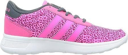 Adidas Neo Lite Racer Zapatillas Sneakers Rosa Para Mujer Amazon Es Deportes Y Aire Libre