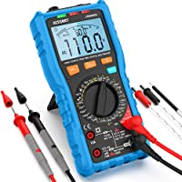 Acegmet TRMS Auto/Manual Ranging Digital Multimeter with LCD Backlit Display
