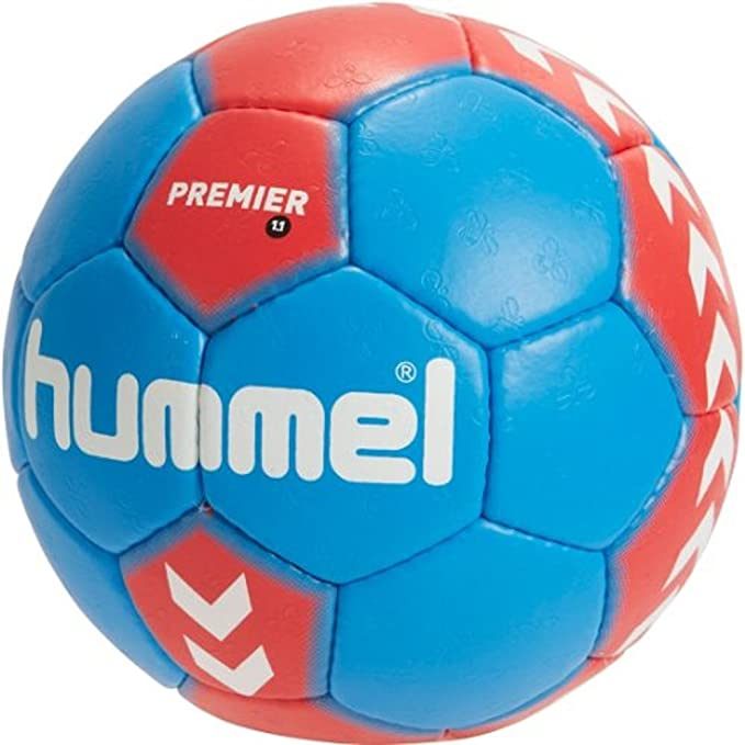 Hummel 1.1 Premier - Balón de balonmano red/blue Talla:3: Amazon ...