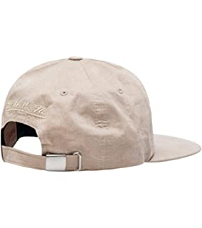 bf86bcad Mitchell & Ness Men's Brooklyn Nets Low Profile Self Fabric Adjustable Strapback  Hat