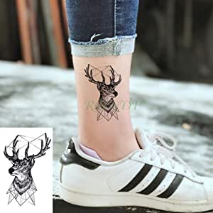 tzxdbh 3cps-Pegatina para Tatuaje Temporal a Prueba de Agua Animal ...
