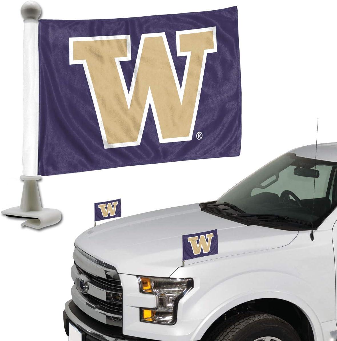 Promark NCAA Washington Huskies Flag Set 2-Piece Ambassador Style One Size Team Color