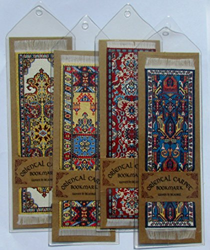 Oriental Carpet Bookmarks #3 - Authentic Woven Carpet (Set of 4) Photo #7