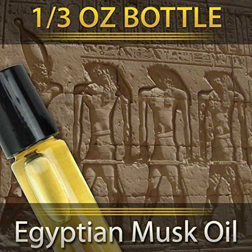 - Pure Egyptian Musk Oil (Civet Blend) Imported From Egypt 1/3oz. 10ml. By Natural Cosmetics