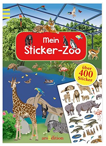 Mein Sticker-Zoo (Mein Stickerbuch)