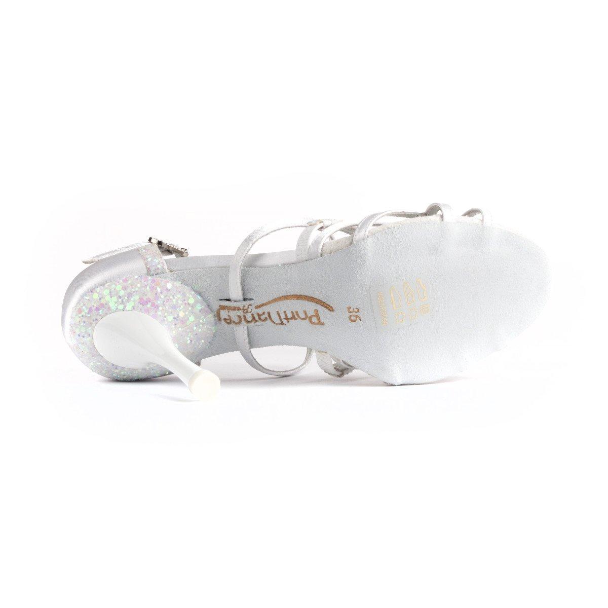PortDance Donne Scarpe Scarpe Scarpe da Ballo Scarpe da Sposa PD800 Pro - Raso Bianco - 5.5 cm Slim 8c9e89