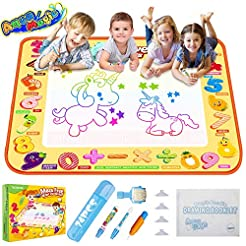 TECBOSS Aqua Magic Mat, Kids Painting Wr...