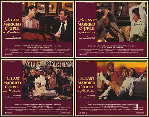 Last Married Couple in America (1980) Original Lobby Cards