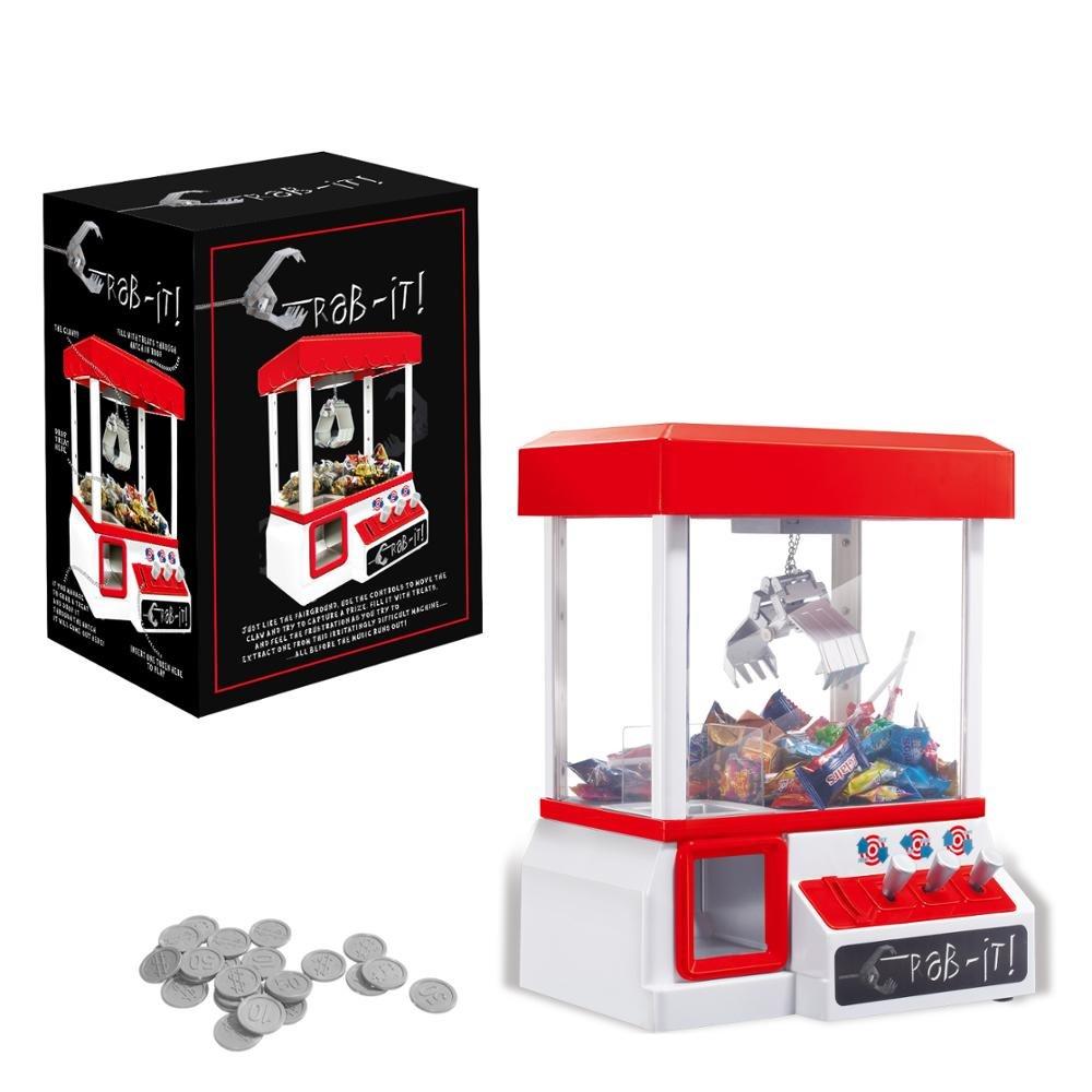 Bayram Macchina per dolci per la casa | Candy Grabber con slot per monete | Pinza per bambini e famiglia | Gioco divertente - Arcade Machine Fair Play Slot