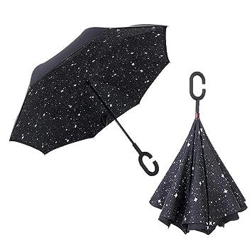 meilleur service 0053f 47ddc libeauty Parapluie Pliant Inversé Parapluie Innovant À ...