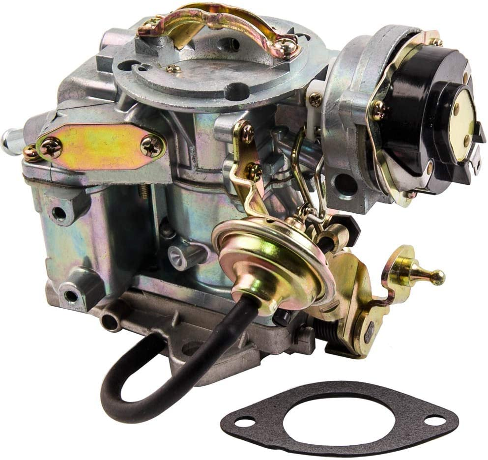 maXpeedingrods Carburetor 1-Barrel for Ford F100 F150 F250 F350 with 4.9L 300Cu 4.1L 250cu 3.3L 200cu