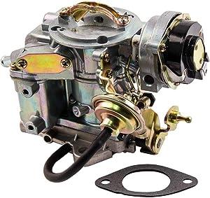 maXpeedingrods Carburetor for Ford Broncos/Fairmont/Granada F100 F150 F250 & F350,for Ford Econoline E Series E-100 E-150 E-250 E-350 with 4.9L 300 Cu/ 4.1L 250 Cu/3.3L 200 Cu Engine Automatic Choke