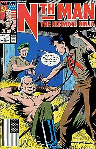 Book Nth Man Ultimate Ninja #5