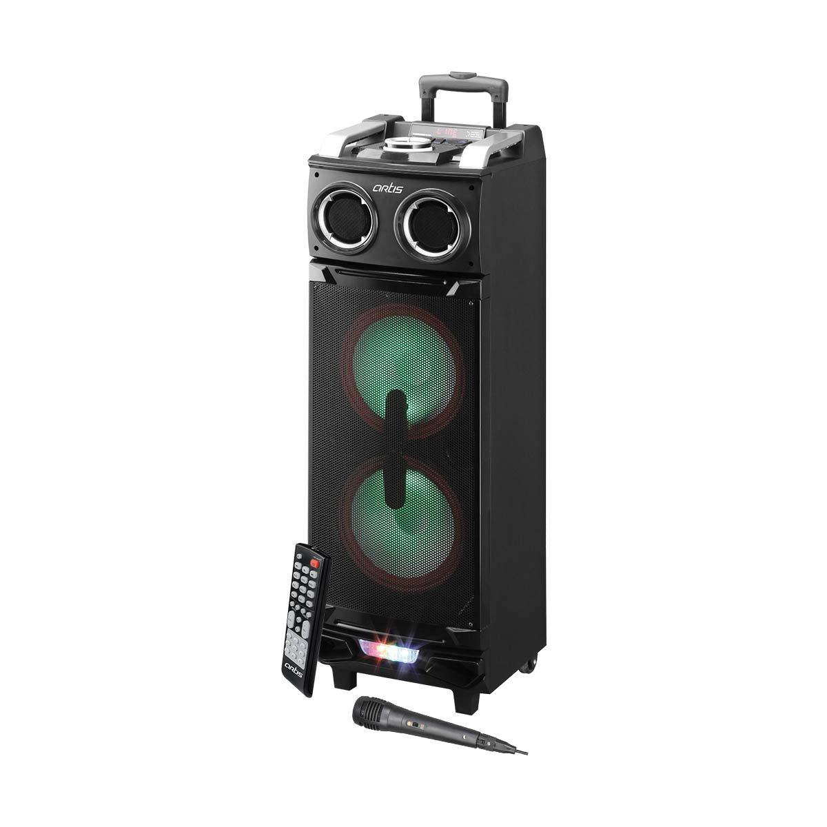 Artis BT900 10 Inch x 2 Karaoke Bluetooth PA System Portable