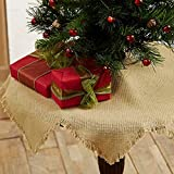 Burlap Natural Mini Tree Skirt
