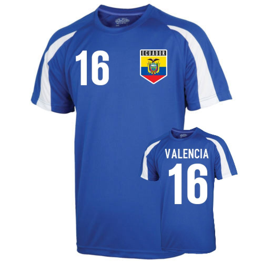 Ecuador Sports Training Jersey (valencia 16) B00KUICO7Y Medium (38-40