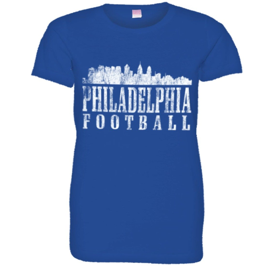 Philadelphia Football Skyline Sports Dist Hq T Shirts