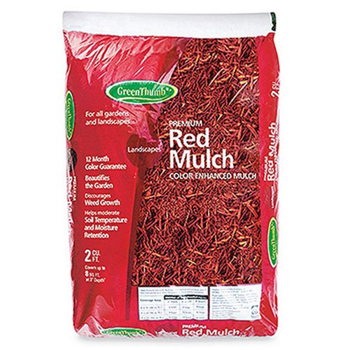 GARICK BG2CFDMRGT Green Thumb Mulch, 2 cu. ft, Red by garick corporation