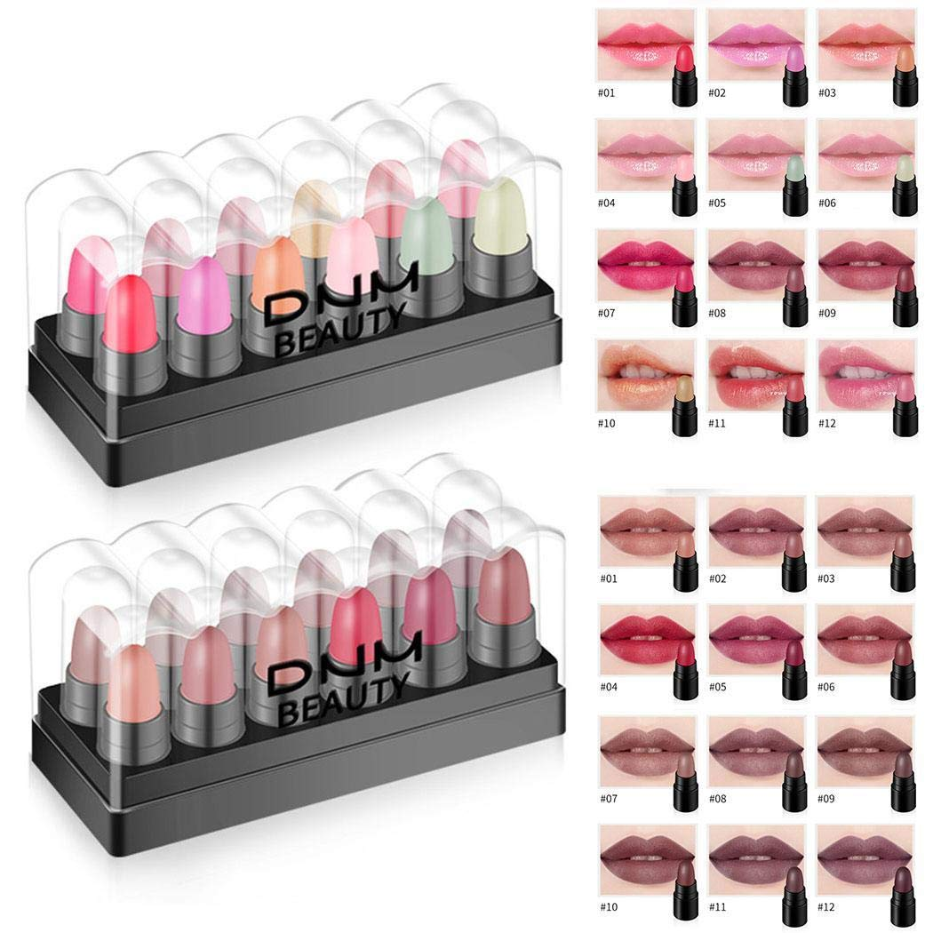 Erholi Makeup Cosmetic Matte Long Lasting Waterproof Soft Cream Lipstick Lip Gloss Lip Glosses