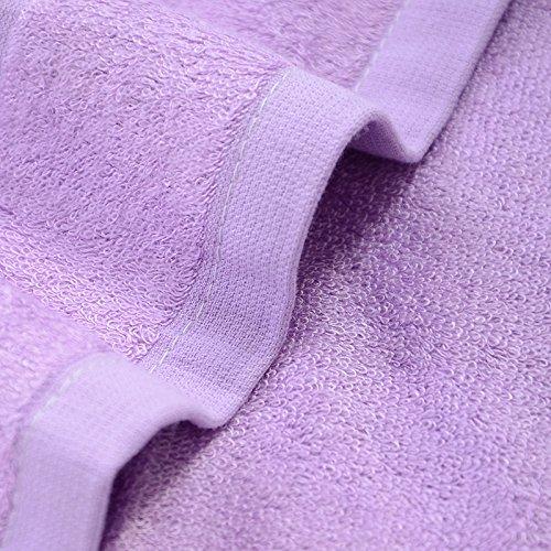 Bambusfaser Handtuch weiche und bequeme Pro-Skin zu absorbieren Wasser Badetuch Bambus Holzkohle 360 G 70 * 140 cm, lila