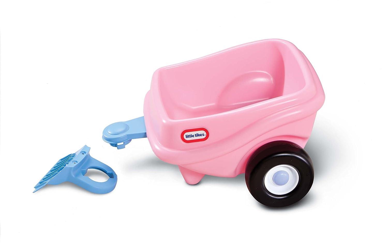 2. Little Tikes Princess Cozy Coupe Trailer