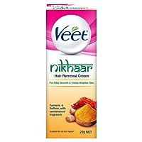 Veet Nikhaar Hair Removal Cream for All Skin Types, 25g