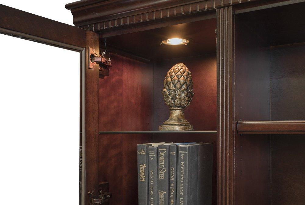 Kathy Ireland Home By Martin Huntington Club Storage Hutch - Fully Assembled