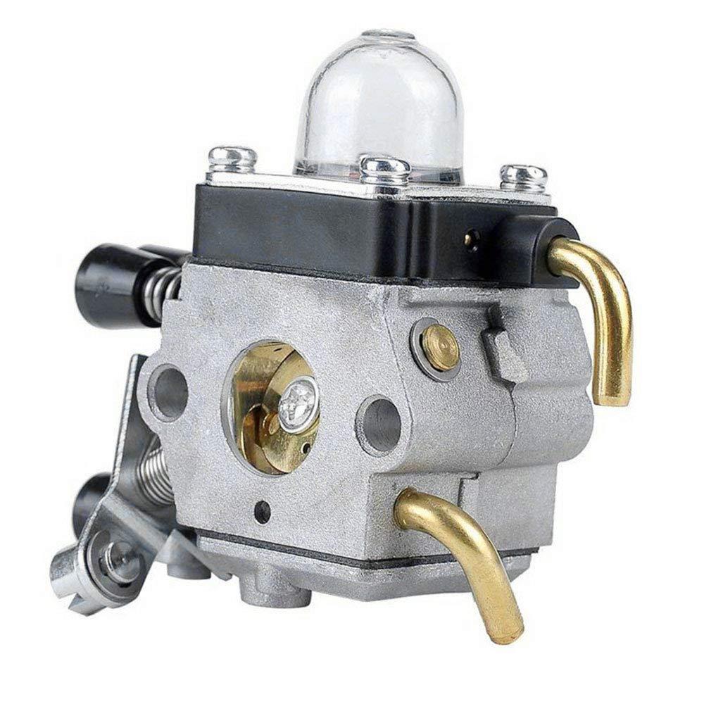 Festnight Vergaser mit Luftfilter Kraftstoffleitung Dichtung Z/ündkerzensatz f/ür STIHL FS38 FS45 FS46 FS55 KM55 FS85
