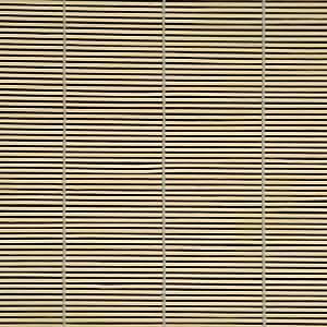 Persiana de bambú para ventana con tracción lateral - natural, 80cm x 160cm