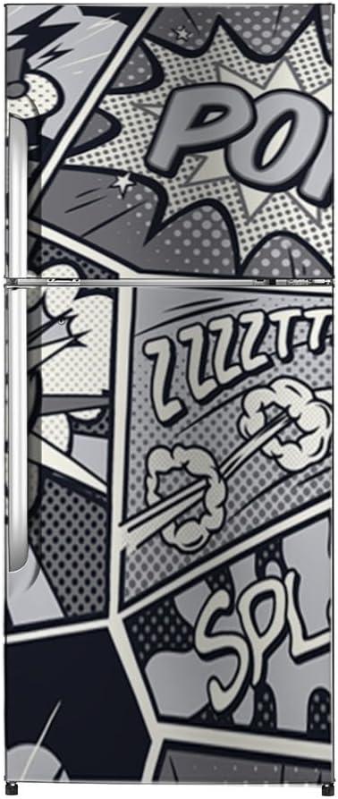Vinilo Frigorífico Comic 185x60cm | Varias Medidas | Pegatinas de ...