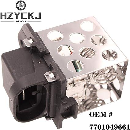 HZYCKJ Resistencia del motor del ventilador OEM # 7701049661 ...