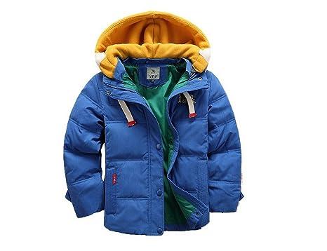 fe5c41688 Amazon.com  Winter Coat for Teen Boys Outerwear Warm Hooded Winter ...
