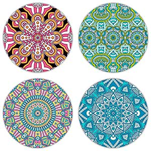 Coastero absorbent stone drink coasters bohemia ii set of 4 coasters - Drink coasters absorbent ...