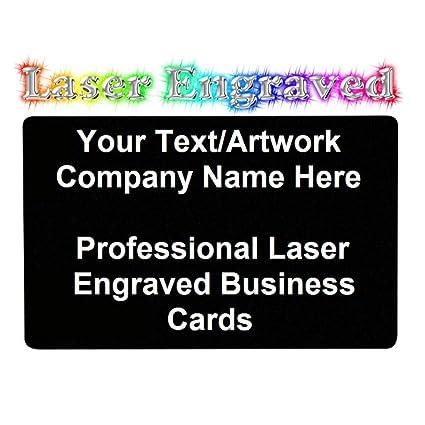 Personalisierte Visitenkarten Mit Lasergravur Metall