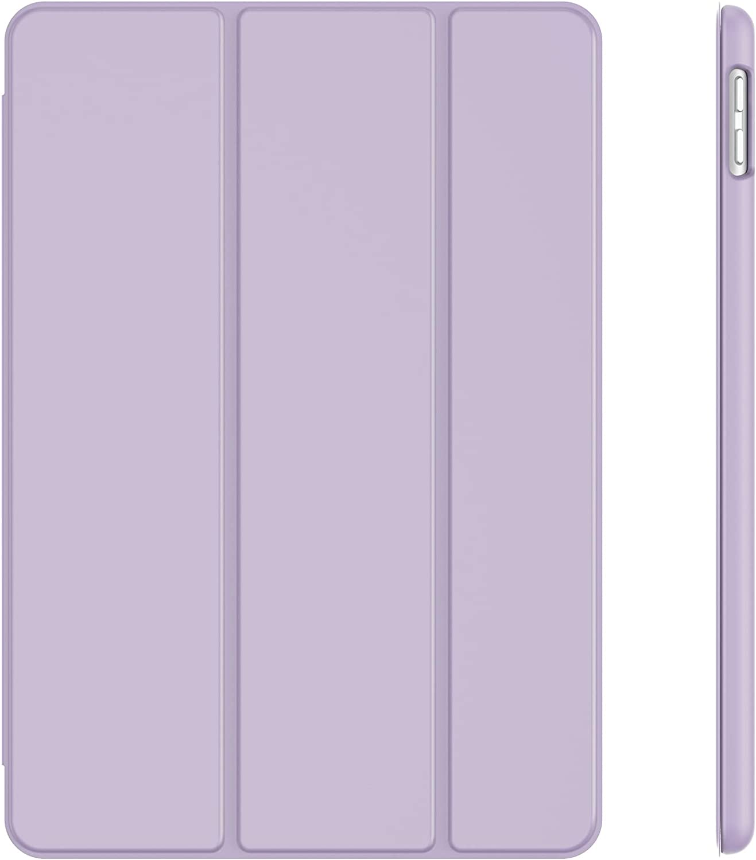 JETech Case for iPad 8/7 (10.2-Inch, 2020/2019 Model, 8th / 7th Generation), Auto Wake/Sleep Cover (Light Purple)