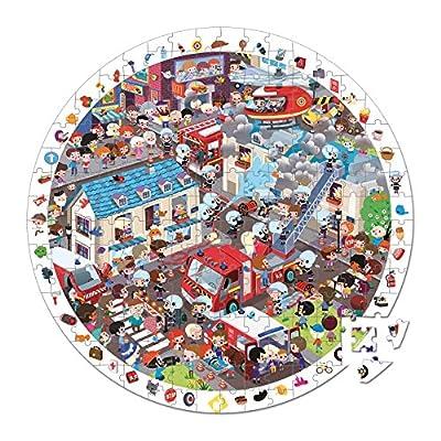 Janod Fireman Puzzle 208pcs.: Toys & Games