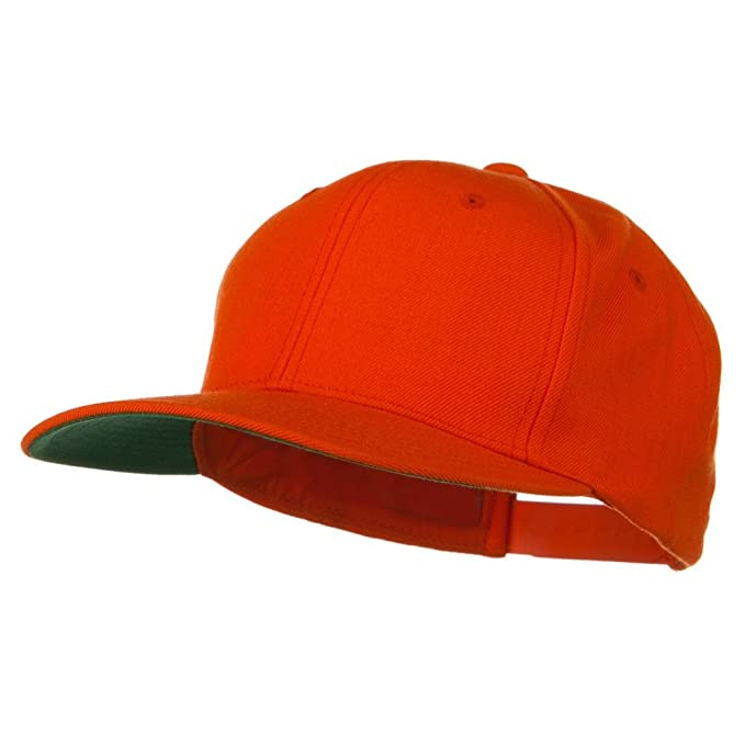 a117922f5e237d Sonette/Yupoong Wool Blend Prostyle Snapback Cap - Orange at Amazon Men's  Clothing store: Baseball Caps
